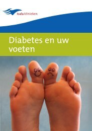 folder 'Diabetes en uw voeten'. - Isala Klinieken