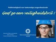 Karien den Ridder van het UMC Utrecht