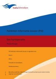 Patiënten Informatie Dossier (PID) Een hartoperatie ... - Isala Klinieken