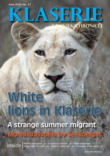 Download as PDF - Klaserie Private Nature Reserve