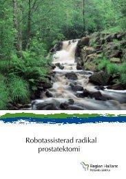 Robotassisterad radikal prostatektomi - Region Halland
