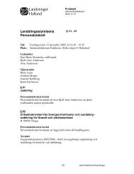 Protokoll - Region Halland