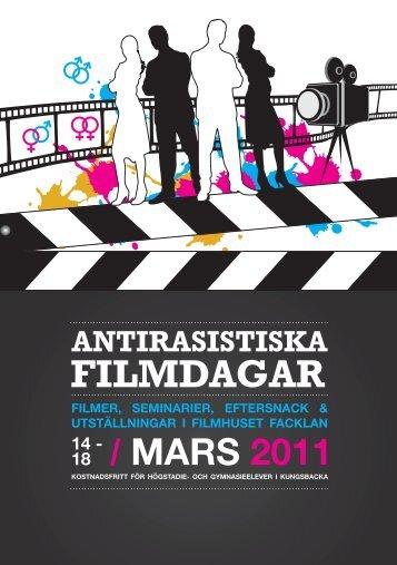 Program Antirasistiska filmdagar - Region Halland