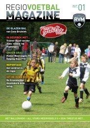 Neem mee! gratis - Regio Voetbal Magazine
