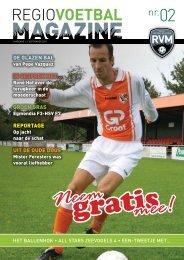 de glazen bal in gesPRek met… - Regio Voetbal Magazine