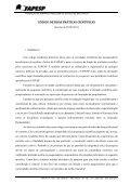 CÓDIGO DE BOAS PRÁTICAS CIENTÍFICAS Conteúdo - Fapesp - Page 2