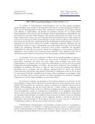 SOC-7045 Grands paradigmes - Faculté des sciences sociales ...