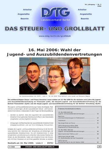 16. Mai 2006: Wahl der Jugend- und ... - Dstg-Berlin