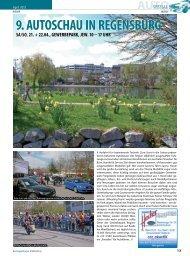 9. AUTOSCHAU IN REGENSBURG - Regensburger Stadtzeitung