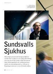 Sundsvalls sjukhus - Ljuskultur