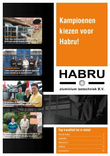 Download duivensport brochure - Habru Duivensport