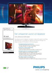 32PFL5606H/12 Philips LED-TV met Pixel Plus HD - ECS-Shop