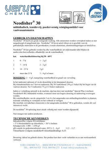 Neodisher 30 - Proximedia