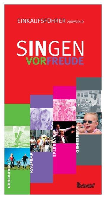 2009 2010 - Singener Wochenblatt
