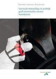 Themaverslag Wetenschap en praktijk - Leven met Water