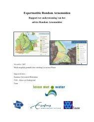 Rapport ter ondersteuning van het advies ... - Leven met Water