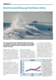 Faktaark 3: Samfunnsutvikling og framtidens klima - CICERO Senter ...