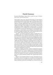 Danish Summary - Kommunikationsforum