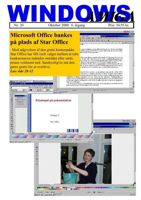 Microsoft Office bankes på plads af Star Office - DaMat
