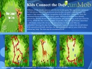 Kids Connect the Dots - RunMob