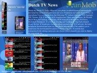Dutch TV News - RunMob