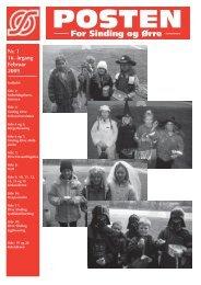 Nr. 1 16. årgang Februar 2009 - Sinding Ørre