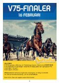 ONSDAG 6 FEBRUARI - Solvalla - Page 4
