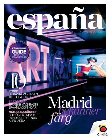 Vår 2012 - Spain