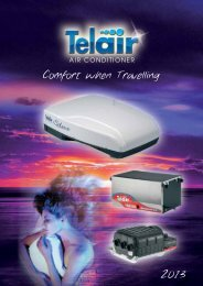 Comfort when Travelling - Teleco