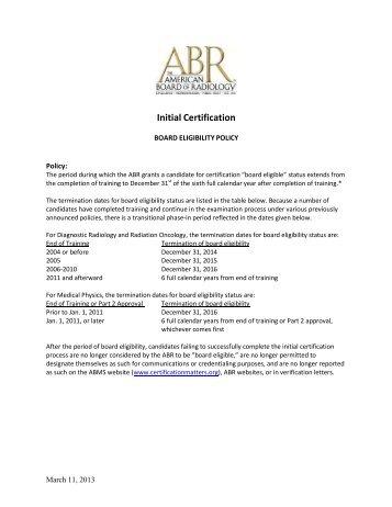 Neuro Ic Exam Registration The American Board Of Radiology