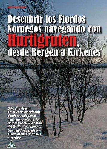 Descubrir los Fiordos Noruegos navegando con Hurtigruten desde ...