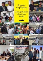 Rapport för projektet Den afrikanska diasporan i Sverige - TheLundian