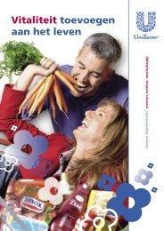 Vitaliteit toevoegen aan het leven - Unilever