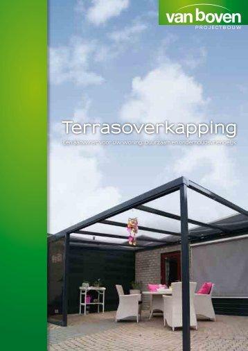 Terrasoverkapping - Van Boven