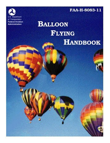 FAA-H-8083-11, Balloon Flying Handbook - US-PPL