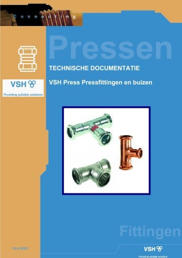 VSH Press Pressfittingen en buizen - Warmteservice