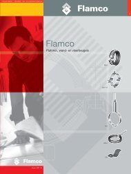 Flamco Plafond-, wand - Warmteservice
