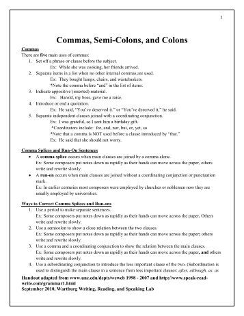 semicolons and colons worksheet adcontessa. Black Bedroom Furniture Sets. Home Design Ideas