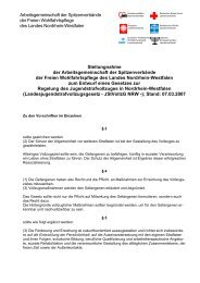 Stellungnahme LAG FW NRW Jstvollzg NRW 260407 - Caritas NRW