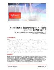 Bescherming van medische gegevens en optimale bedrijfsvoering