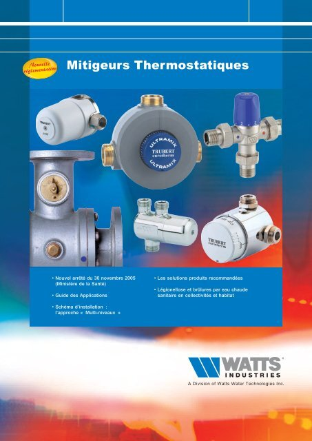 Mitigeurs Thermostatiques - Watts Industries