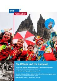 Pressemappe zum Download (PDF) - WDR.de