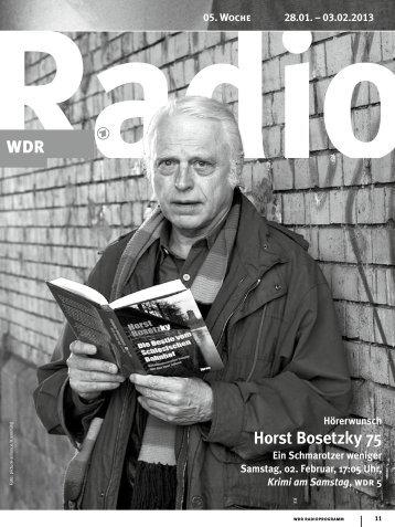 Horst Bosetzky 75 - WDR.de