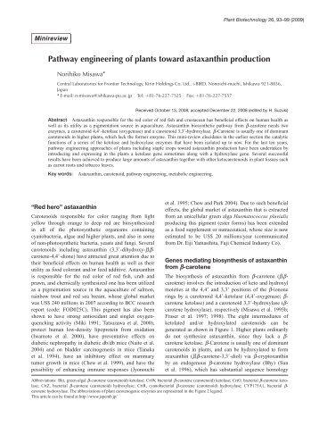 Plant Biotechnol. 26(1): 93-99 (2009) - Wdc-jp.biz
