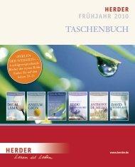 Verlag Herder, Freiburg: Vorschau Frühjahr 2010: Taschenbuch