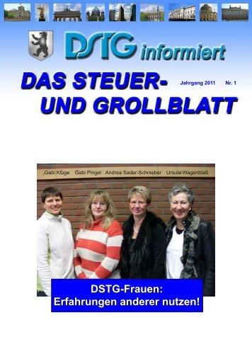 Dstg-Frauen: Erfahrungen anderer nutzen! - Dstg-Berlin