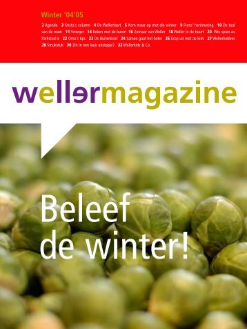 Beleef de winter - Weller
