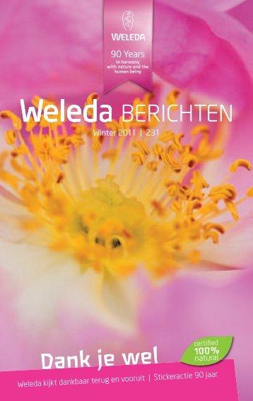 Weleda Berichten Winter 2011