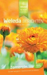 Weleda Berichten Zomer 2011