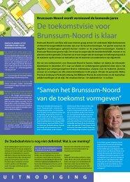 Samenvatting Stadsdeelvisie Brunssum-Noord definitief - Gemeente ...